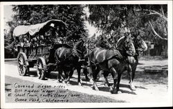 Covered Wagon Rides at Ghost Town, Knott's Berry Farm