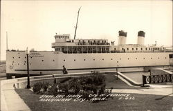 "State Car Ferry - ""City of Petoskey"""