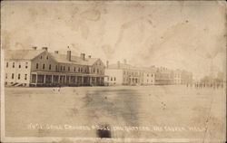 Drill Grounds and Soldiers Quarters
