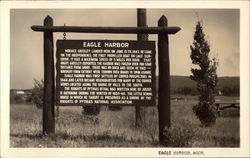 Eagle Harbor Sign