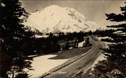 Mount Rainier and Yakima Park