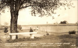 View of Old Fort Pike