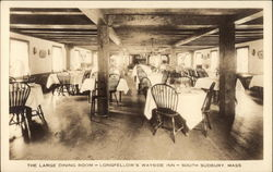 The Large Dining Room, Longfellow's Wayside Inn