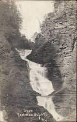 Glen - Waterfall Postcard