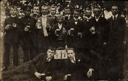 Group of Men Drinking Beers
