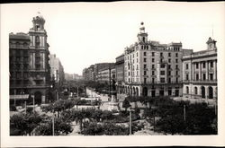 Spain Square and Independence Avenue