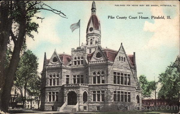 Pike County Court House Pittsfield Illinois