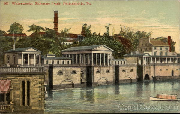 Waterworks, Fairmont Park Philadelphia Pennsylvania