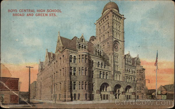 Boys Central High School Philadelphia Pennsylvania