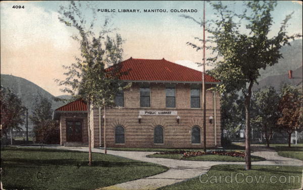 Public Library Manitou Colorado