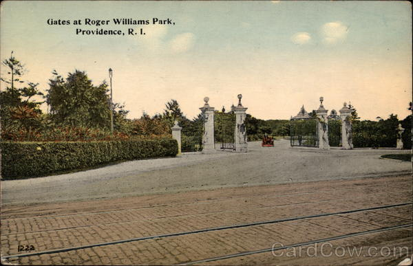 Gates at Roger Williams Park Providence Rhode Island