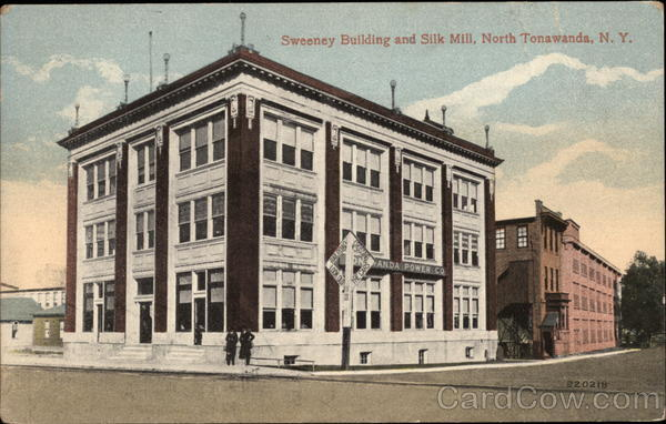 Sweeney Building and Silk Mill North Tonwanda New York