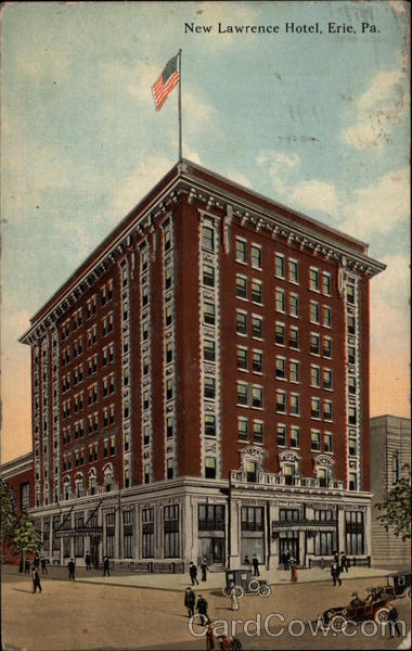 New Lawrence Hotel Erie Pennsylvania