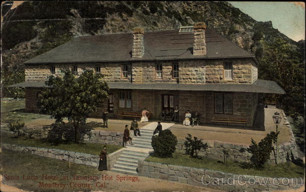 Santa Lucia Hotel at Tassajara Hot Springs Monterey County California