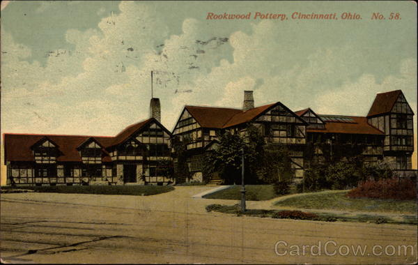 Rookwood Pottery Cincinnati Ohio
