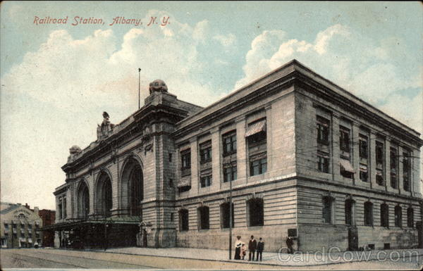 Railroad Station Albany New York