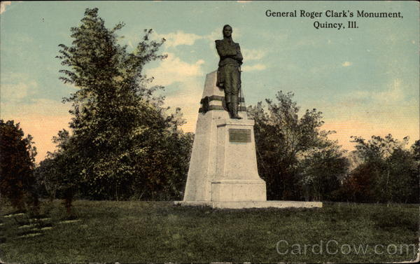 General Roger Clark's Monument Quincy Illinois