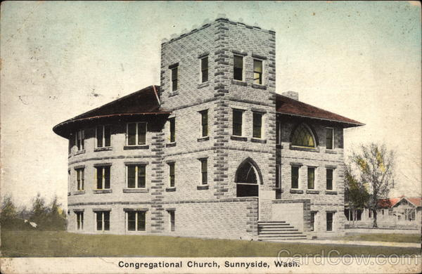 Congregational Church Sunnyside Washington