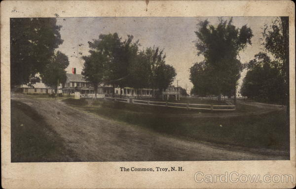 The Common Troy New Hampshire