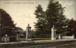 Entrance to Lansdowne Court