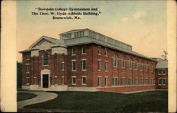 Bowdoin College Gymnasium and the Thos. W. Hyde Athletic Building
