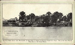 E.F. Rowson & Co., Irrigated Lands
