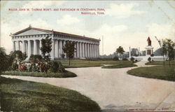 Major John W. Thomas Mon't and Parthenon in Centennial Park