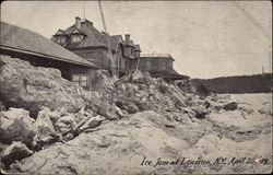 Ice Jam April 20, 1909 Postcard