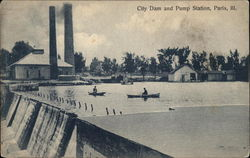 City Dam and Pump Station