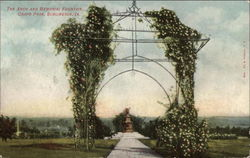 The Arch and Memorial Fountain, Crapo Park