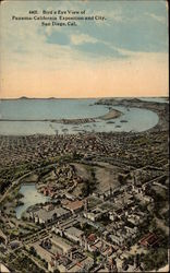 Bird's Eye View of Panama-California Exposition and City