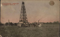 Scene in Oil Field, Taggart Well in Foreground