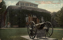 Birchard Library and Cannon used in War of 1812