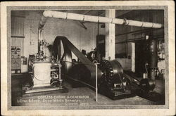 Corliss Engine and Generator, L-Iten & Sons. Snow White Bakery