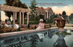 Beatiful Souther California Garden, Residence of Dr. Schiffman