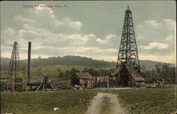 Drilling Oil Well