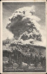 Vulcan's Face, View of Mt. Lassen Eruption, 1914