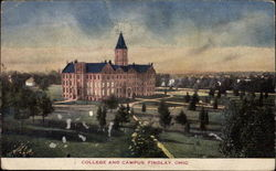College and Campus Postcard