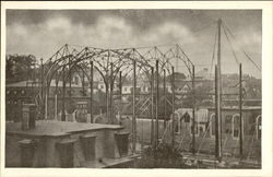 Construction of St. Ann's Roman Catholic Church (Paroisse Ste. Anne)
