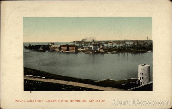 Royal Military College and Harbour Kingston Canada