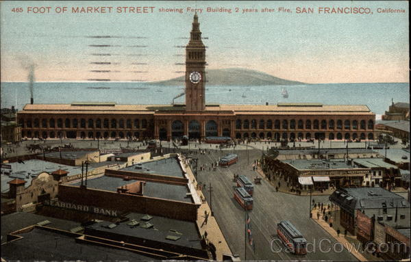 Foot of Market Street San Francisco California Charles Weidner