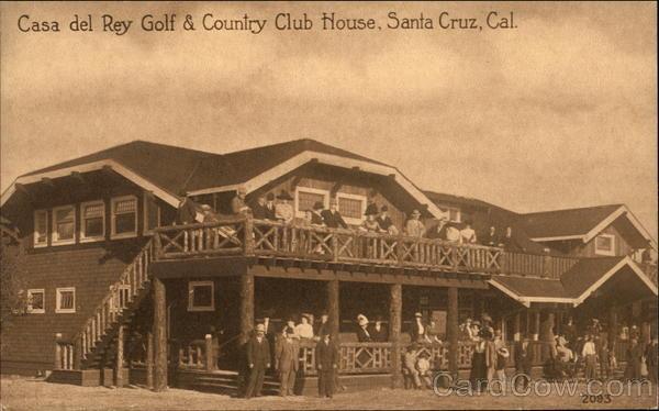 Casa del rey golf country club house santa cruz ca - Casa santa cruz ...