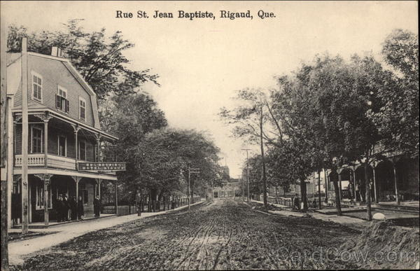 Rue St. Jean Baptiste Rigaud Canada Quebec