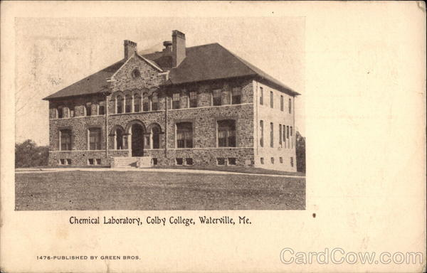 Colby College - Chemical Laboratory Waterville Maine