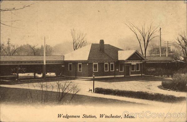 Wedgemere Station Winchester Massachusetts