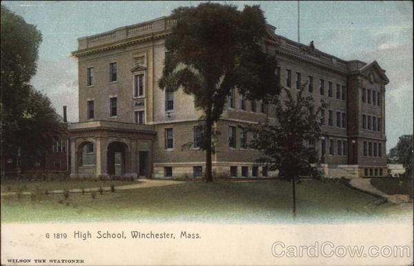 High School Winchester Massachusetts