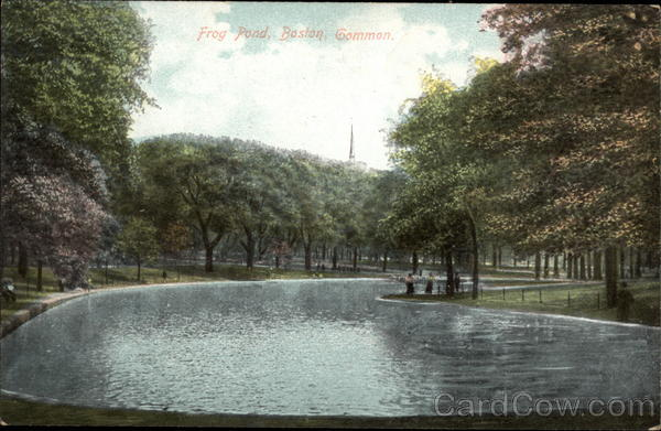 Frog Pond, Boston Common Massachusetts
