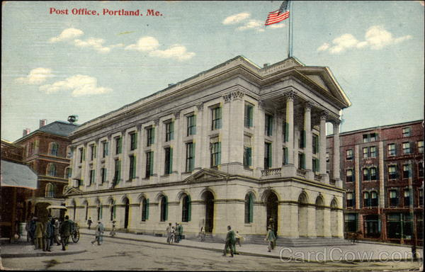 Post Office Portland Maine