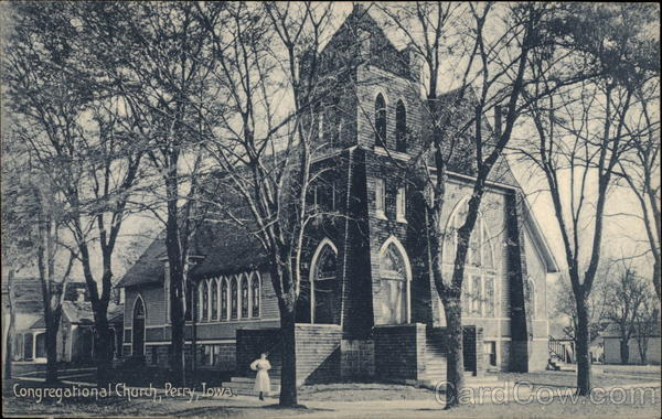 Congregational Church Perry Iowa