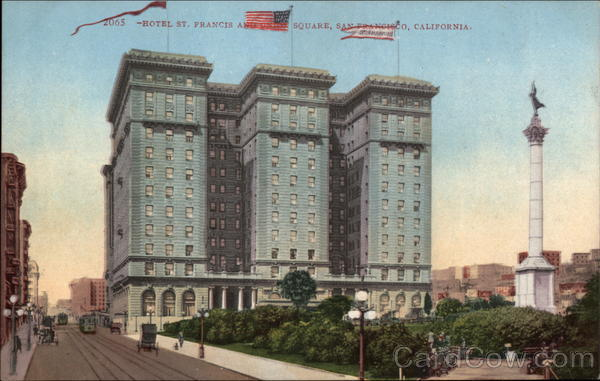 Hotel St.Francis and Union Square San Francisco California